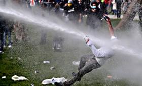 Πρωτομαγιά: Βίαιες διαδηλώσεις στην Ευρώπη και στην Τουρκία (vid)