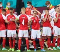 Είχε εμβολιαστεί ο παίκτης που κατέρρευσε στον αγώνα Δανιας – Φινλανδίας