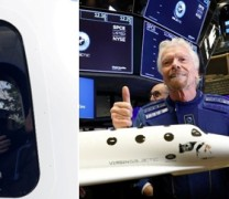 LIVE: Ο Βρετανός Ρίτσαρντ Μπράνσον έγινε ο πρώτος «διαστημικός τουρίστας»