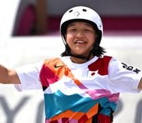 Τόκιο: Χρυσή Ολυμπιονίκης μια 13χρονη στο σκέιτμπορντ γυναικών (vid)