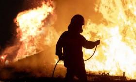 Μάχη με τις φλόγες σε Γορτυνία και Εύβοια για να σωθούν οικισμοί (vid)