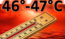 Ολόκληρη η χώρα καζάνι της Κόλασης που βράζει στους +44 βαθμούς Κελσίου