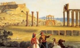 Οι στυλίτες που ζούσαν σε μια καλύβα πάνω στο Ναό του Ολυμπίου Διός