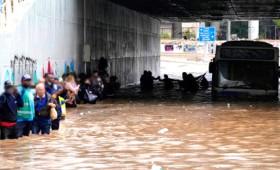 Κακοκαιρία «Μπάλλος» στην Αττική: Σκηνές χάους σε τριτοκοσμική χώρα (video)
