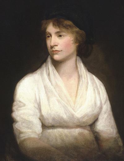 Η Μαίρη Γουόλστονκραφτ, μητέρα της διάσημης Μαίρης Σέλεϊ.
