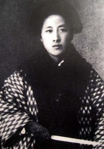 Η Qiu Jin, εθνική ηρωίδα της Κίνας.