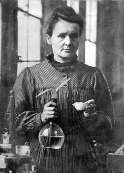 Η Μαρία Κιουρί αφιέρωσε τη ζωή της στην επιστήμη.