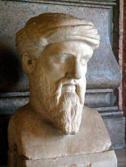 Πυθαγόρας ο Σάμιος. Μουσείο Καπιτωλίου, Ρώμη.