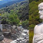 Ο Λαέρτιος διαφωνεί με τον «τάφο» του Αριστοτέλη