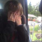 Μικρός περιβαλλοντολόγος ξεσπά σε κλάματα (βίντεο)