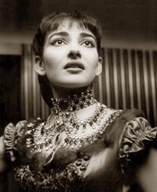 Η Μαρία Κάλλας το 1955
