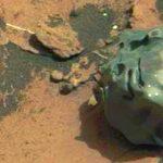 Βρέθηκε κομμάτι λιωμένου μετάλλου στον Άρη