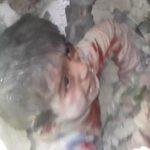 6χρονο αγοράκι ανασύρεται ζωντανό στο Χαλέπι (βίντεο)