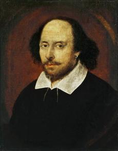 Αυτό το πορτραίτο του Σαίξπηρ που βρίσκεται στην Εθνική Πινακοθήκη του Λονδίνου θεωρείται πλαστό.
