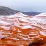 Τι άλλο θα δούμε! Χιόνισε στην έρημο Σαχάρα! (Βίντεο)