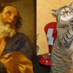 Γάτες σε πόζες διάσημων έργων ζωγραφικής (Pictorial)