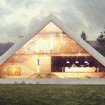 Μετα-αρχιτεκτονική: σπίτια σε σχήμα πυραμίδας