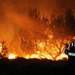 Καπανδρίτι: Πύρινος εφιάλτης λίγα μέτρα από τα σπίτια
