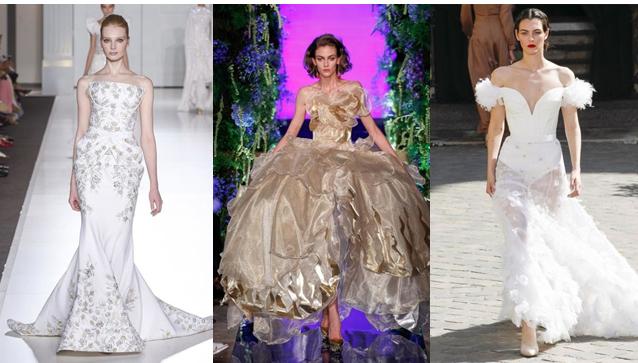 c0e0dbec5be0 Αντλήστε εμπνεύσεις από την haute couture Φθινόπωρο   Χειμώνας 2017-18 για  τη μεγάλη ημέρα σας. Κάποια από τα φορέματα κάνουν για νυφικά