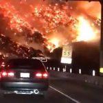 Τέσσερις μεγάλες πυρκαγιές πλήττουν τη νότια Καλιφόρνια