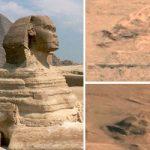 Τα απομεινάρια μιας αιγυπτιακής Σφίγγας στον Άρη (vid)