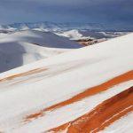 Η πιο καυτή έρημος στον κόσμο σκεπάστηκε από χιόνι