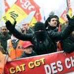 Απεργιακές κινητοποιήσεις και διαδηλώσεις κατά Μακρόν