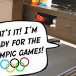 Γατούλα προπονείται για τους Ολυμπιακούς (vid)