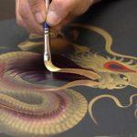 Η ιαπωνική τέχνη της ζωγραφικής με μια πινελιά