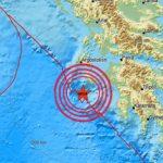 Ταρακουνήθηκε η Ζάκυνθος από το σεισμό των 6,6 Ρίχτερ