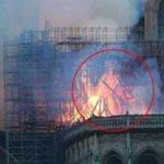 Γυναίκα είδε τον Ιησού στη φωτιά της Παναγίας των Παρισίων (vid)