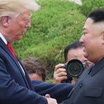 Ο Τραμπ πάτησε στο έδαφος της Βόρειας Κορέας (vid)