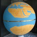 Η Υδρόγειος Σφαίρα του Κράτη σε φυσικό μέγεθος στην Ολυμπία