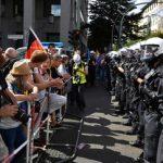 LIVE: Συγκέντρωση κατά του lockdown στη Λειψία (vid)