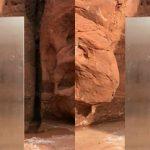 Μυστηριώδης μονόλιθος ανακαλύφθηκε στην έρημο της Γιούτα (pics+vid)