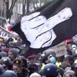 Μεγάλη διαδήλωση στο Παρίσι ενάντια στο νέο νόμο περί ασφάλειας (vid)