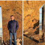 Ένας ακόμη μυστηριώδης μονόλιθος εμφανίστηκε στη Νήσο Γουάιτ της Αγγλίας (vid)