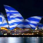 Η Όπερα του Σίδνεϊ στα ελληνικά χρώματα για τα 200 χρόνια από το 1821