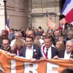 Οι Γάλλοι αντιστέκονται στην «Τυραννία του κορονοϊού»