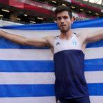 Χρυσός Ολυμπιονίκης ο Μίλτος Τεντόγλου στο άλμα εις μήκος ανδρών