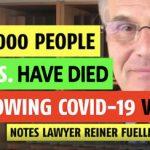 Reiner Fuellmich: 500.000 νεκροί στις ΗΠΑ από τα εμβόλια Covid (vid)